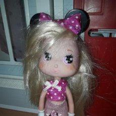 Muñecas Lesly y Barriguitas: PRECIOSA MUÑECA FAMOSA I LOVE MINNIE MOUSE DISNEY ROPA INCLIDA . Lote 93403625