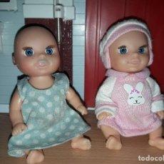 Muñecas Lesly y Barriguitas: LOTE VARIADO MUÑECAS BARATAS COLECCION FAMOSA BEBES. Lote 94345906