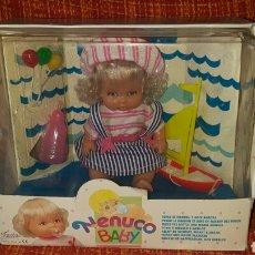 Muñecas Lesly y Barriguitas: NENUCO BABY DE FAMOSA, NUEVO EN SU CAJA AÑOS 90 BLISTER. Lote 94922316
