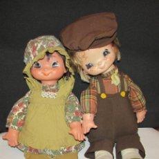 Muñecas Lesly y Barriguitas: ROSALINA ROSALINO FAMOSA - AÑOS 70 - PAREJA DE MUÑECOS. Lote 95811059