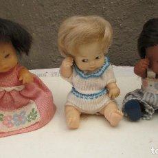 Muñecas Lesly y Barriguitas: VENDO LOTE 3 BARRIGUITAS -- FAMOSA 97 NUCA. Lote 96017647