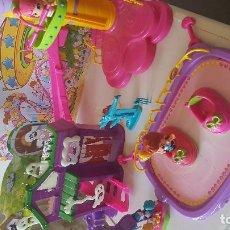 Muñecas Lesly y Barriguitas: PARQUE DE ATRACCIONES DE PIN Y PON. Lote 98050815
