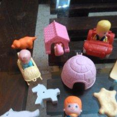 Muñecas Lesly y Barriguitas: LOTE PIN Y PON . Lote 98084847