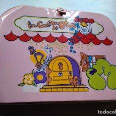 Muñecas Lesly y Barriguitas: ANTIGUO MALETIN CASITA PIN Y PON FAMOSA AÑOS 80. Lote 98496175