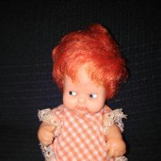Muñecas Lesly y Barriguitas: BARRIGUITAS PELIRROJA DE LOS 80 MARCA EN NUCA FAMOSA. Lote 98647156