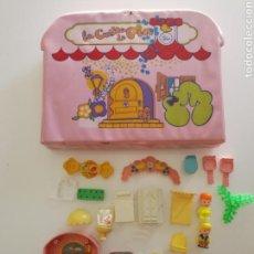 Muñecas Lesly y Barriguitas: CASA MALETIN DE PIN Y PON. Lote 98654120