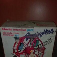 Muñecas Lesly y Barriguitas: NORIA BARRIGUITAS COMPLETA EN CAJA. Lote 98805287