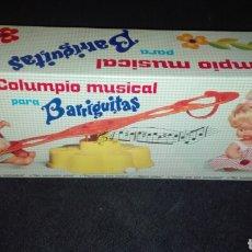 Muñecas Lesly y Barriguitas: COLUMPIO MUSICAL BARRIGUITAS DE FAMOSA. Lote 98807652