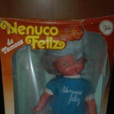 Muñecas Lesly y Barriguitas: NENUCO FELIZ DE FAMOSA EN CAJA. Lote 98808215