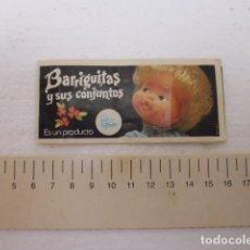 Muñecas Lesly y Barriguitas: CATALOGO BARRIGUITAS Y SUS CONJUNTOS -FAMOSA-. Lote 103335983
