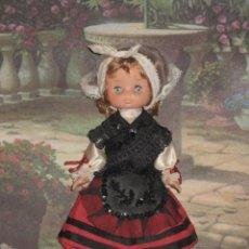 Muñecas Lesly de Famosa: LESLY RARISIMA VESTIDA DE LLANISCA (ASTURIAS). Lote 27218067