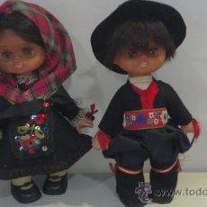 Muñecas Lesly de Famosa: PAREJA DE MUÑECOS REGIONALES FAMOSA?. Lote 30036345