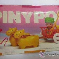 Muñecas Lesly de Famosa: PIN Y PON CARRETA DE BUEYES, REF 2316, EN CAJA. CC. Lote 37100510