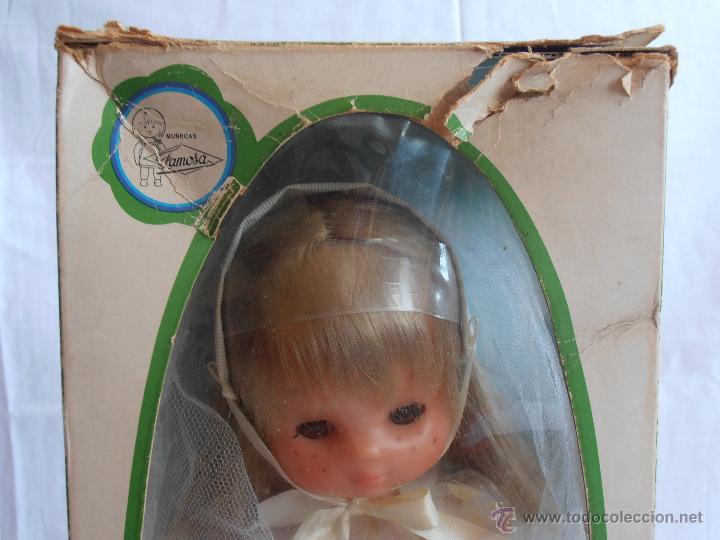 Muñecas Lesly de Famosa: MUÑECA LESLY, COMUNIÓN EN CAJA ORIGINAL FAMOSA AÑOS 70 - Foto 3 - 50364793