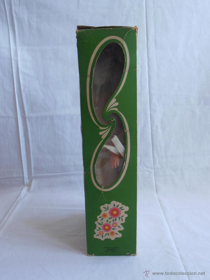 Muñecas Lesly de Famosa: MUÑECA LESLY, COMUNIÓN EN CAJA ORIGINAL FAMOSA AÑOS 70 - Foto 5 - 50364793