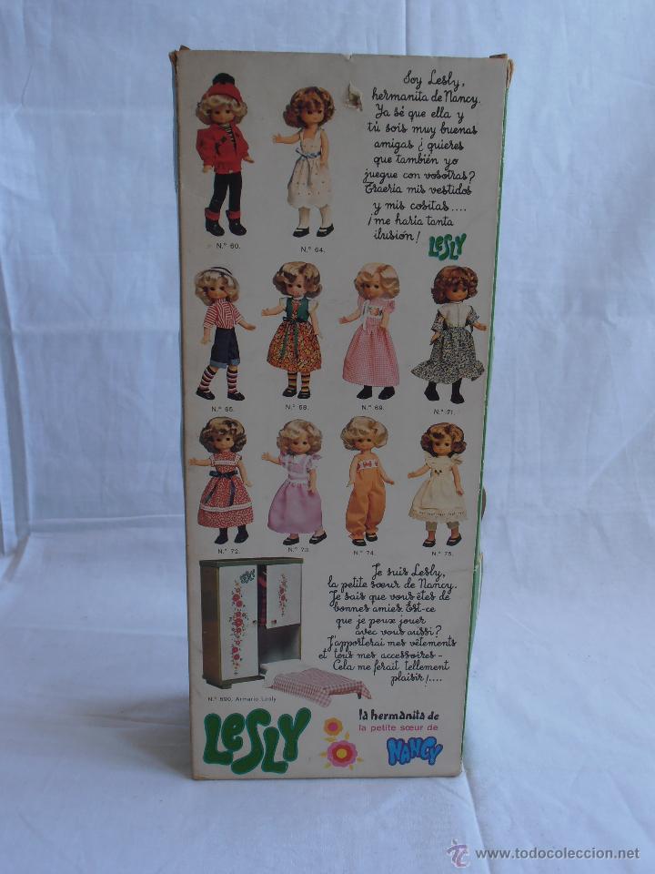 Muñecas Lesly de Famosa: MUÑECA LESLY, COMUNIÓN EN CAJA ORIGINAL FAMOSA AÑOS 70 - Foto 6 - 50364793