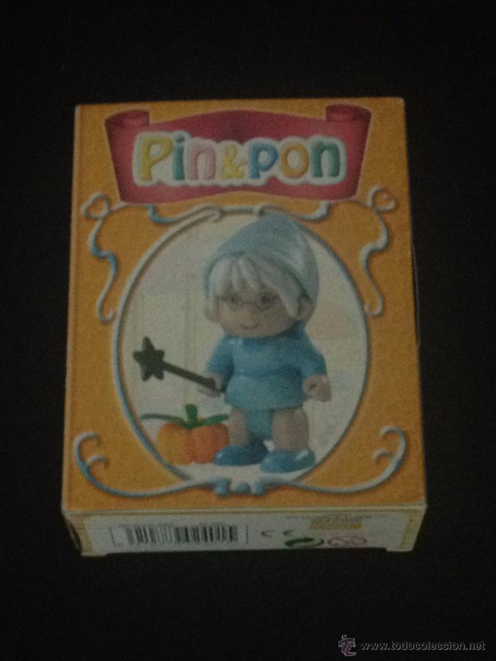 PIN Y PON PINYPON FIGURA MUÑECO - FAMOSA REF. ONILCO 6568 - HADA DE CUENTO CENICIENTA - CAJA (Juguetes - Muñeca Española Moderna - Lesly)