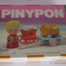 Muñecas Lesly de Famosa: PIN Y PON REF 2308 TONELERO CON CARRO, EN CAJA. CC. Lote 52358519
