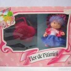 Muñecas Lesly de Famosa: MUÑECA FLOR DE PITIMINÍ LA COLECCIÓN JARDÍN DE FLOR FAMOSA 1985 84090 NUEVA CAJA. .. Lote 55931450