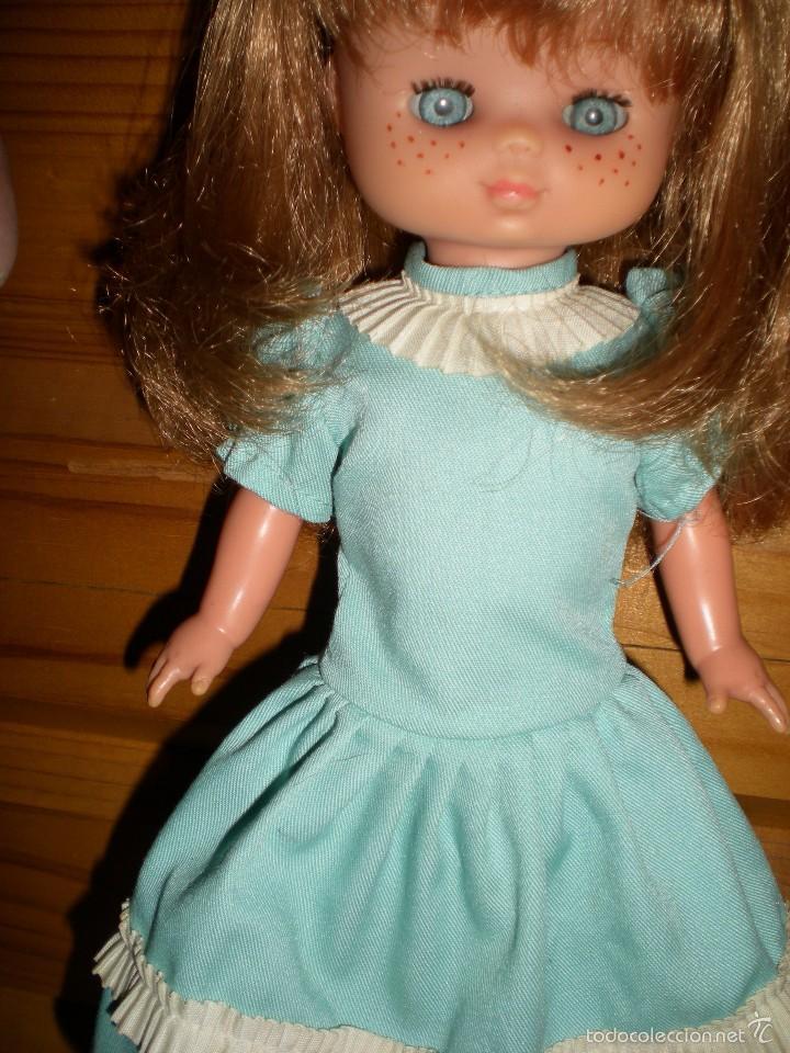 Muñecas Lesly de Famosa: lesly arona fiesta pelirroja famosa años 70 ojos cristal 10 pecas brazos duros - Foto 7 - 58386273