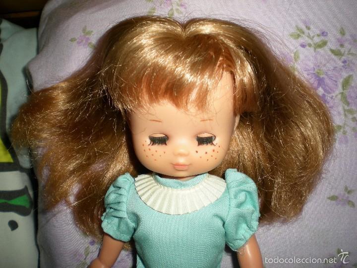 Muñecas Lesly de Famosa: lesly arona fiesta pelirroja famosa años 70 ojos cristal 10 pecas brazos duros - Foto 11 - 58386273