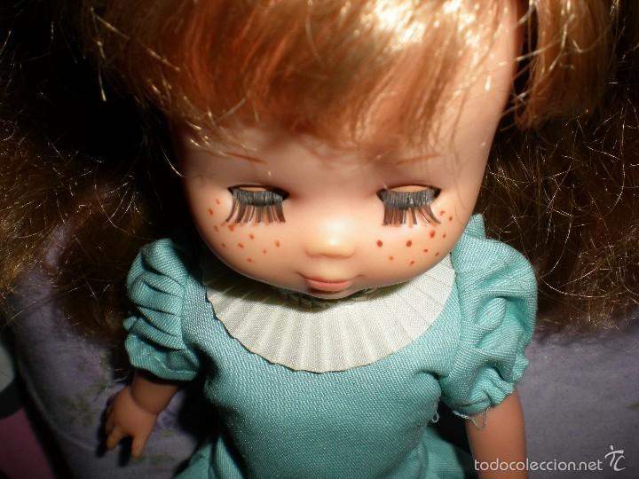Muñecas Lesly de Famosa: lesly arona fiesta pelirroja famosa años 70 ojos cristal 10 pecas brazos duros - Foto 12 - 58386273