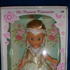 Muñecas Lesly de Famosa: FAMOSA - LESLY, MI PRIMERA COMUNIÓN A ESTRENAR!!! SBB. Lote 203983593
