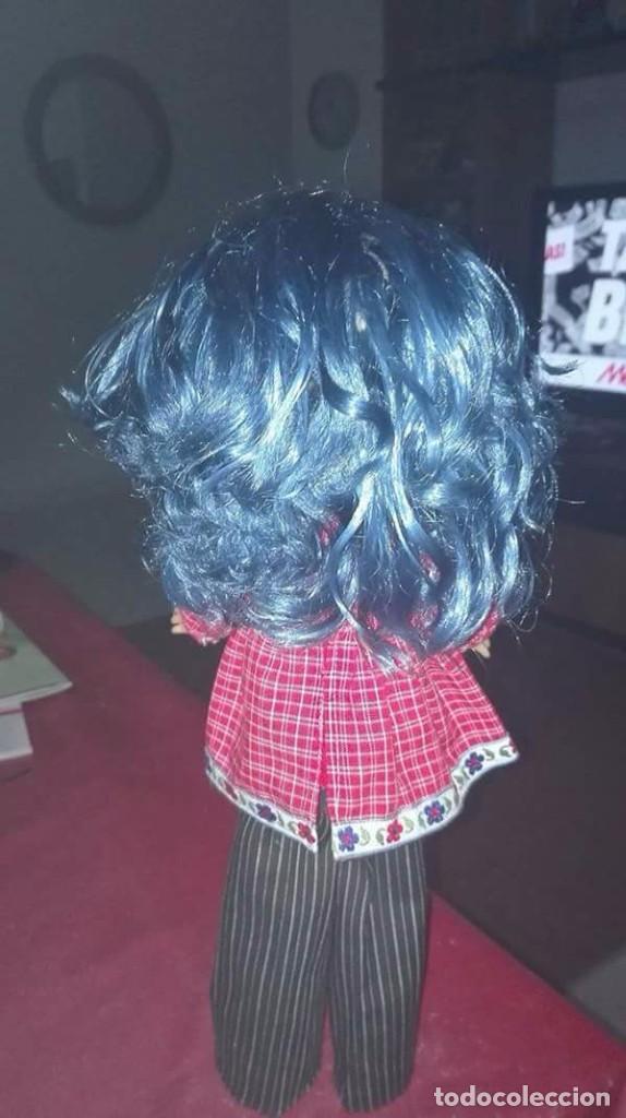 Muñecas Lesly de Famosa: Lesly nueva tuneada pelo azul rizadito - Foto 3 - 73610047
