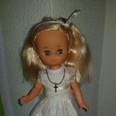 Muñecas Lesly de Famosa: LESLY COMUNION MUY BONITA COMO NUEVA!. Lote 96938300