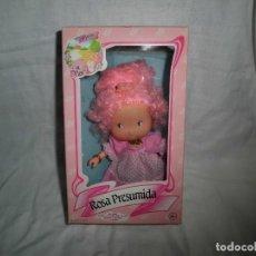 Muñecas Lesly de Famosa: MUÑECA ROSA PRESUMIDA DEL JARDIN DE FLOR.FAMOSA.EN SU CAJA . Lote 98076887