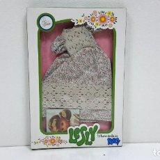 Muñecas Lesly de Famosa: CONJUNTO LESLY MD. LIBERTY AÑOS 70. Lote 102402515