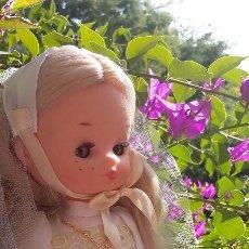 Muñecas Lesly de Famosa: LESLY DE COMUNIÓN DE CUATRO PECAS AÑOS 70-80. DE FAMOSA. LA HERMANITA DE NANCY. Lote 102966863