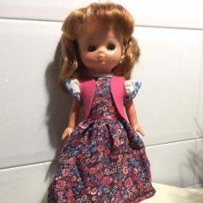 Muñecas Lesly de Famosa: VESTIDO CARAMELO DE MUÑECA NANCY LESLY ORIGINAL DE FAMOSA. Lote 115417991