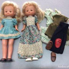 Muñecas Lesly de Famosa: MAGNIFICO LOTE LESLY HERMANITA DE NANCY . Lote 118239767