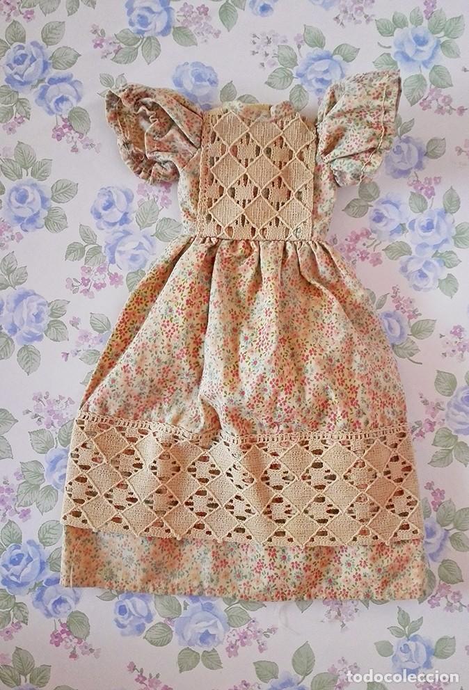Muñecas Lesly de Famosa: Vestido Liberty muñeca Lesly famosa ropa muñecas flores - Foto 3 - 117373479