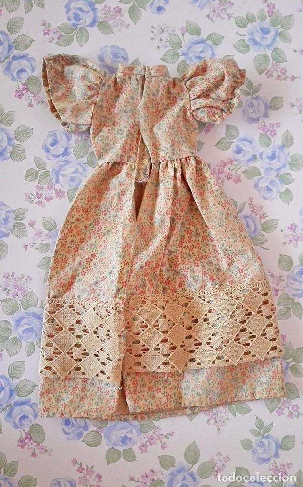 Muñecas Lesly de Famosa: Vestido Liberty muñeca Lesly famosa ropa muñecas flores - Foto 4 - 117373479