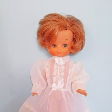 Muñecas Lesly de Famosa: VESTIDO VALIDO MUÑECA LESLY BLANCO TRASLUCIDO ROPA MUÑECAS. Lote 117373887