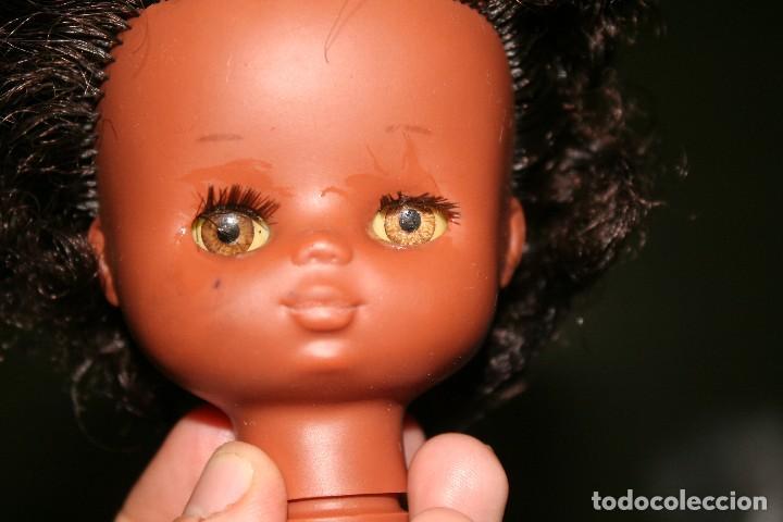 Muñecas Lesly de Famosa: cabeza muñeca lesly negrita - Foto 2 - 124675443