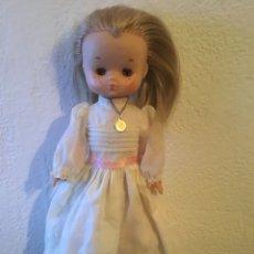 Muñecas Lesly de Famosa: LESLY DE COMUNIÓN AÑOS 70. Lote 125096222
