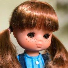 Muñecas Lesly de Famosa: ESPECTACULAR LESLY PELIRROJA 10 PECAS IRIS ARONA DE LAS PRIMERAS BRAZO DURO HERMANA NANCY. Lote 128277195