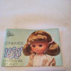 Muñecas Lesly de Famosa: CATÁLOGO LESLY. Lote 134452826