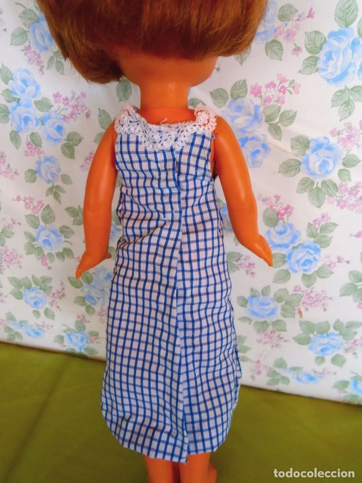Muñecas Lesly de Famosa: Vestido cuadros para muñeca Lesly ropa casera muñecas no famosa - Foto 3 - 132166082