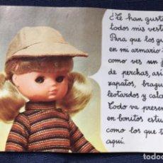 Muñecas Lesly de Famosa: FOLLETO VESTIDO LESLY AÑOS 70-80. Lote 137670042