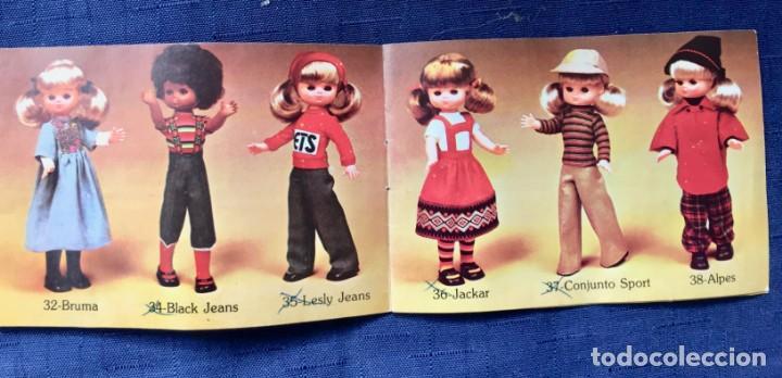 Muñecas Lesly de Famosa: folleto vestido lesly años 70-80 - Foto 2 - 137670042