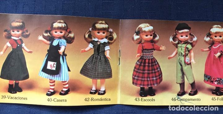 Muñecas Lesly de Famosa: folleto vestido lesly años 70-80 - Foto 3 - 137670042