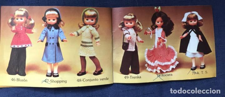 Muñecas Lesly de Famosa: folleto vestido lesly años 70-80 - Foto 4 - 137670042