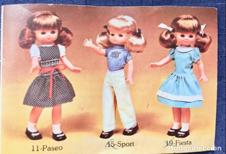 Muñecas Lesly de Famosa: folleto vestido lesly años 70-80 - Foto 5 - 137670042