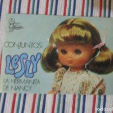 Muñecas Lesly de Famosa: LESLY, HERMANITA NANCY CATALOGO. Lote 139360998