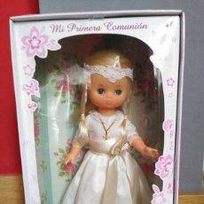 Muñecas Lesly de Famosa: LESLY COMUNIÓN NUEVA EN CAJA. Lote 144123350