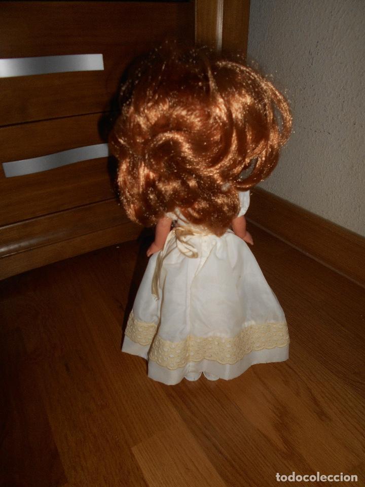 Muñecas Lesly de Famosa: Lesly pelirroja 10 PECAS flequillo de famosa de Comunión Buen estado años 70 - Foto 3 - 147846538